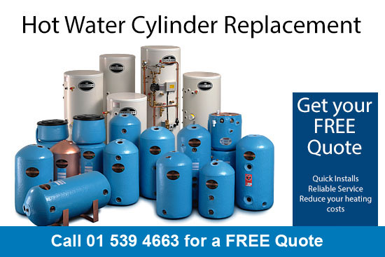 hot water cylinder replacement