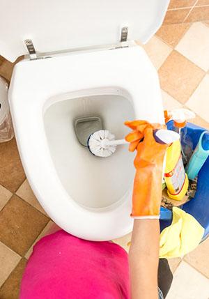 Toilet not flushing properly