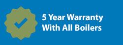 5 Year Boiler Warranty